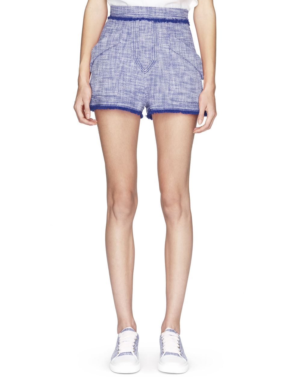 LIGHTWEIGHT TWEED SHORTS - Lanvin