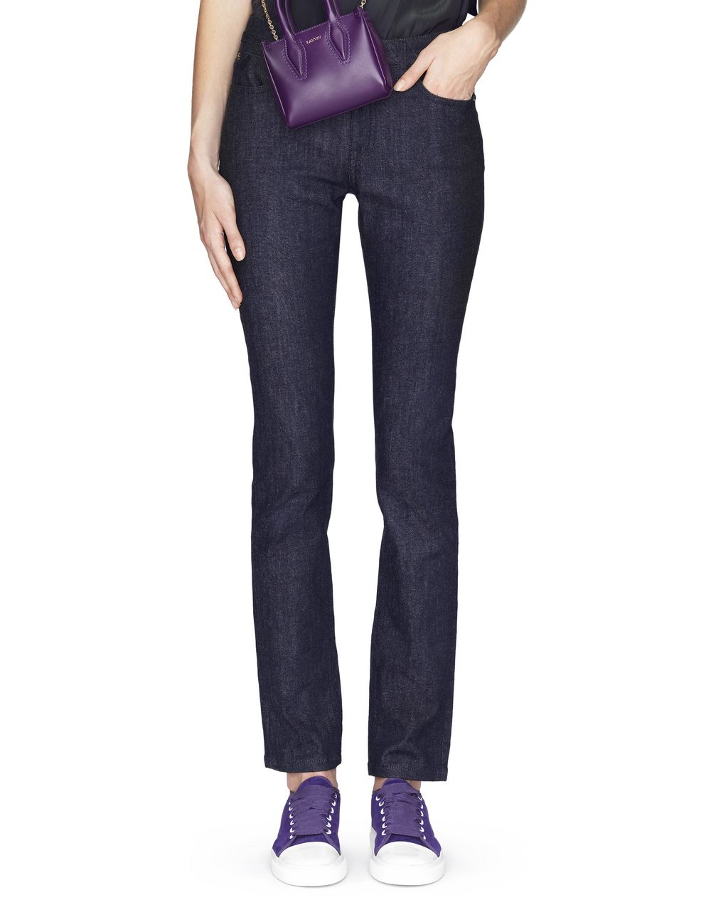 INDIGO DENIM PANTS - Lanvin