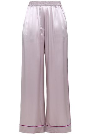 DOLCE & GABBANA Silk pajama pants