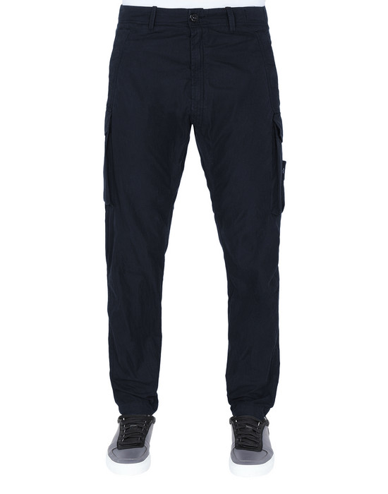 STONE ISLAND Pants 314F2 GHOST PIECE_COTTON NYLON TELA