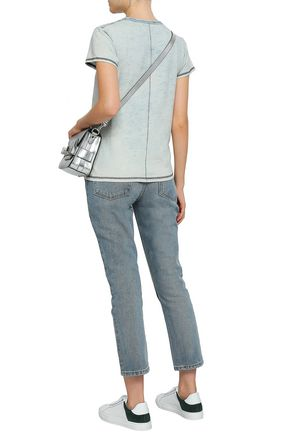 RE/DONE Faded mid-rise straight-leg jeans