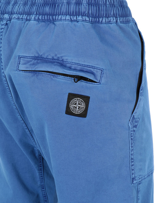 13259801wj - PANTS - 5 POCKETS STONE ISLAND