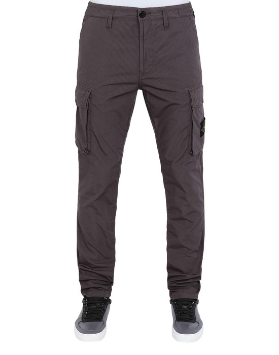 STONE ISLAND Trousers 31807 STRUCTURED COTTON