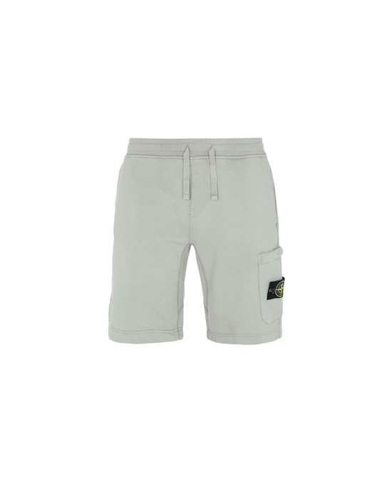 FLEECE BERMUDA SHORTS 64651 STONE ISLAND - 0