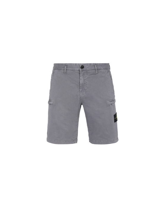 Bermuda shorts L0504 'OLD' DYE TREATMENT STONE ISLAND - 0