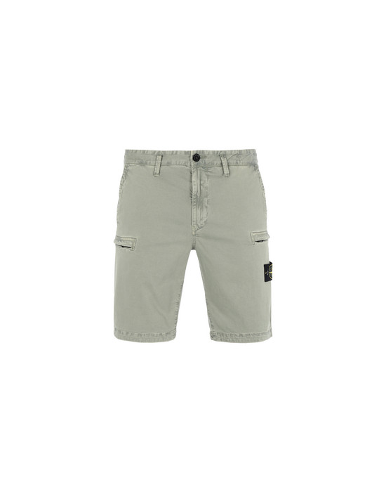 STONE ISLAND Bermuda shorts L0504 'OLD' DYE TREATMENT