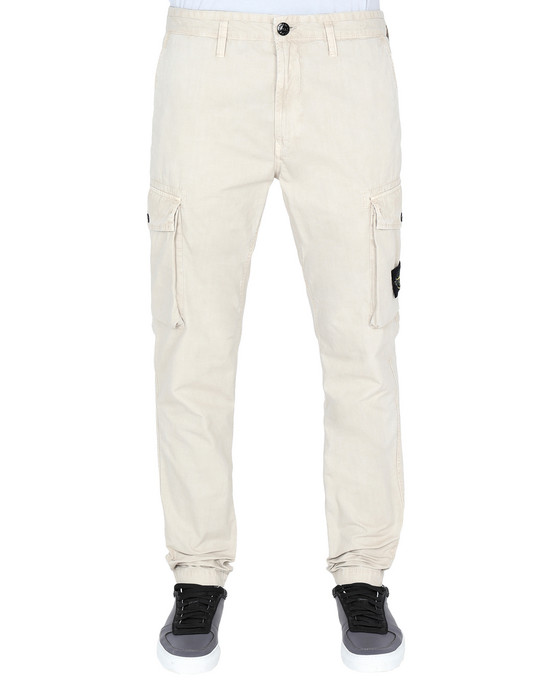 Trousers 318WA 'OLD' DYE TREATMENT STONE ISLAND - 0