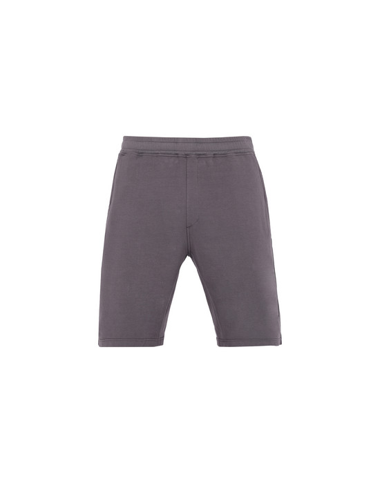 STONE ISLAND FLEECE BERMUDA SHORTS 62252
