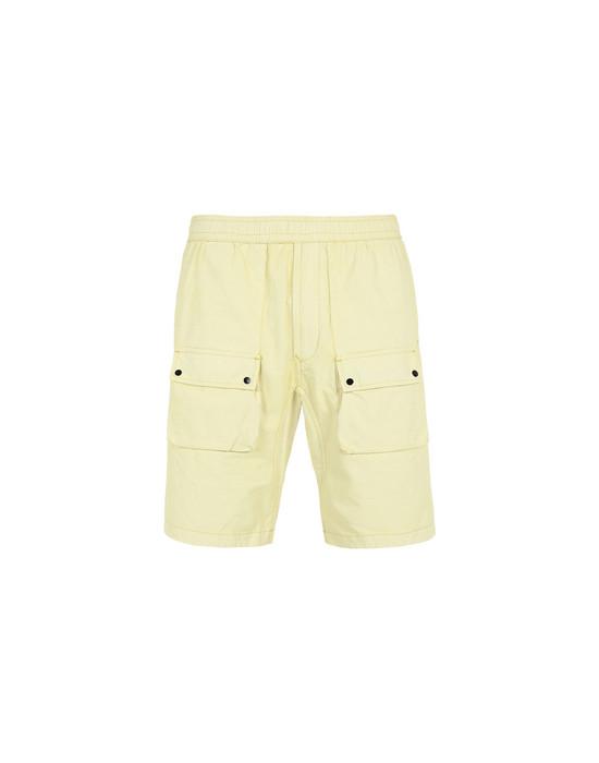 Bermuda shorts L1263 PLATED TELA STONE ISLAND - 0