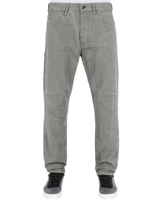 Pants J03J1 PANAMA PLACCATO RE-T STONE ISLAND - 0