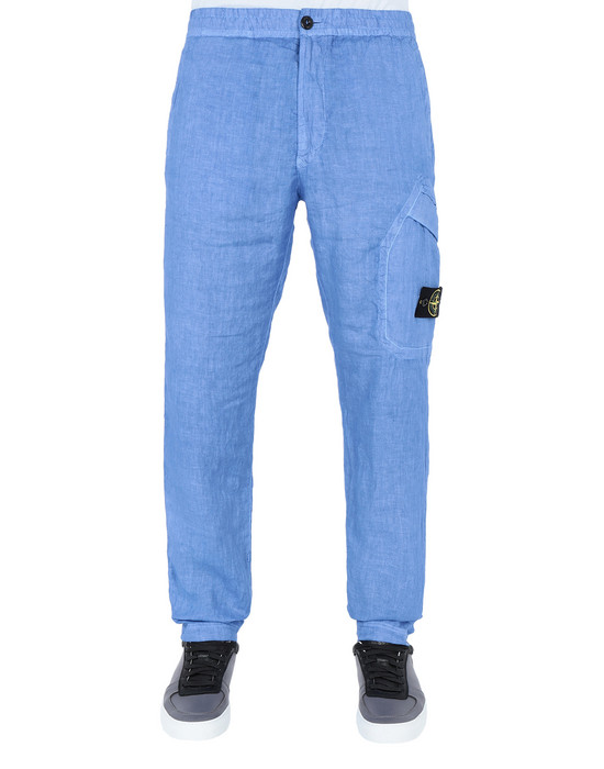 Trousers 31301 'FISSATO' DYE TREATMENT STONE ISLAND - 0
