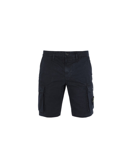 STONE ISLAND Bermuda shorts L07WA 'OLD' DYE TREATMENT