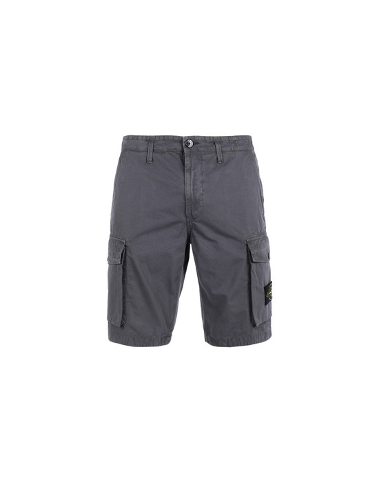 STONE ISLAND Bermudas L07WA 'OLD' DYE TREATMENT