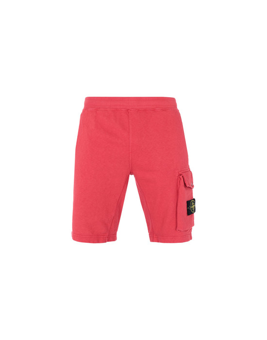 STONE ISLAND BERMUDAS DE FELPA 65860 'OLD' DYE TREATMENT