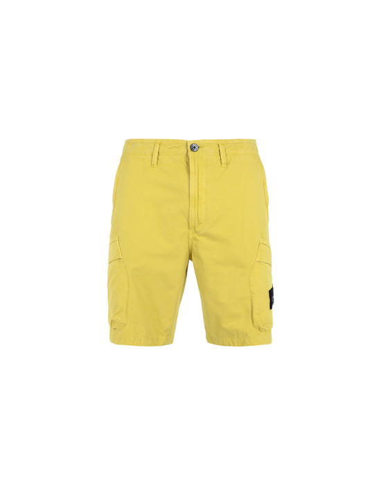 Bermuda shorts L08WA 'OLD' DYE TREATMENT STONE ISLAND - 0