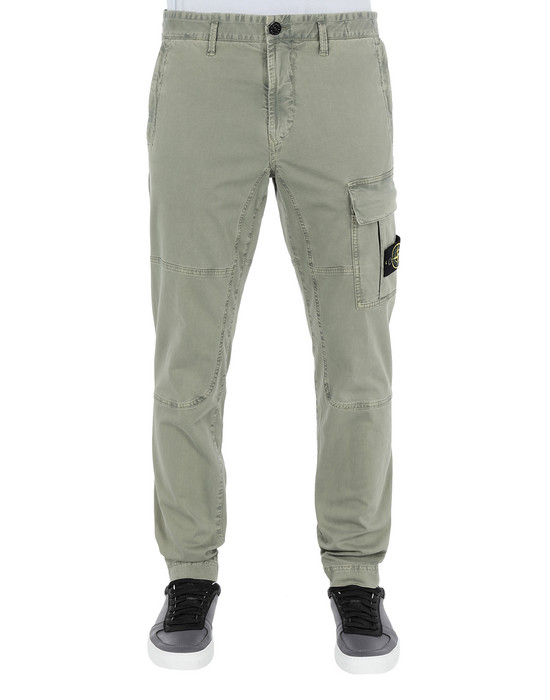 Trousers 31504 'OLD' DYE TREATMENT STONE ISLAND - 0