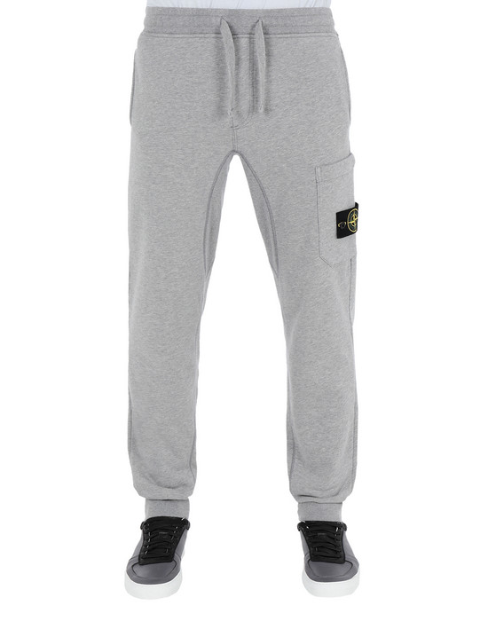 STONE ISLAND Fleece Trousers 60351