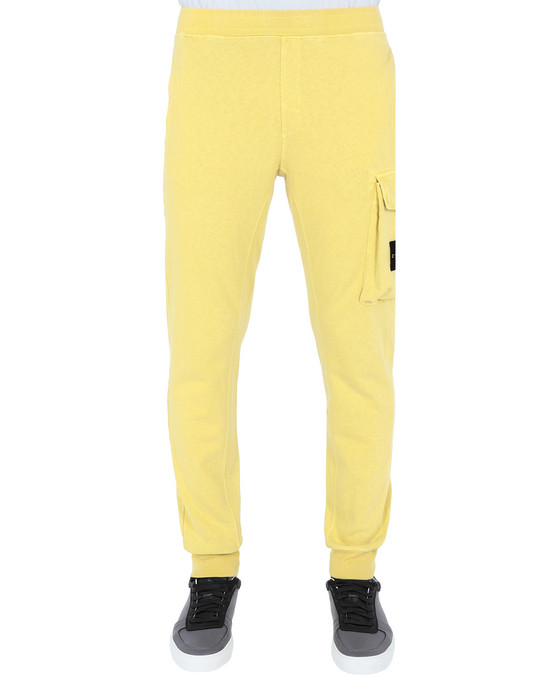STONE ISLAND Fleece Trousers 65760 'OLD' DYE TREATMENT