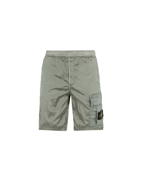 STONE ISLAND Bermuda shorts L1017 NYLON METAL RIPSTOP