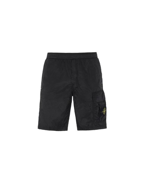 百慕大短裤 L1017 NYLON METAL RIPSTOP STONE ISLAND - 0