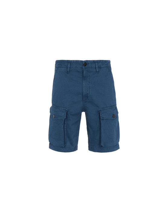 STONE ISLAND Bermuda shorts L0304 'OLD' DYE TREATMENT