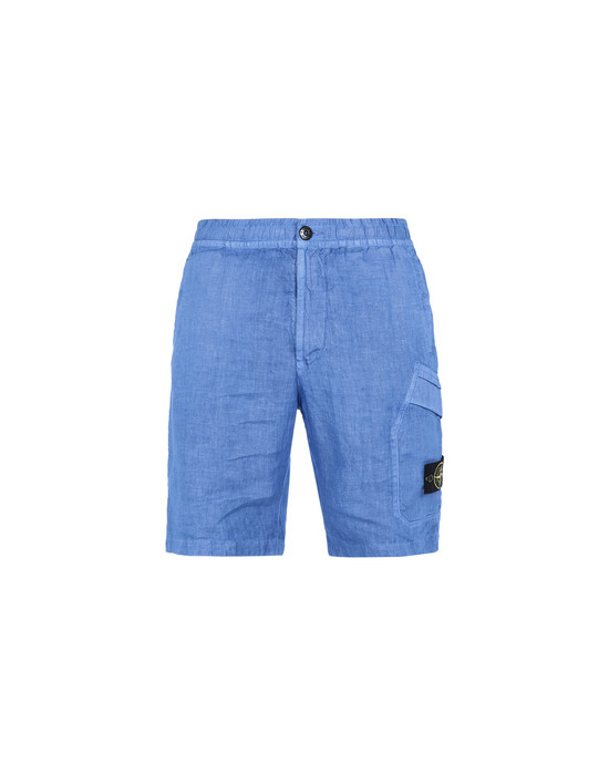 STONE ISLAND Bermuda shorts L0601 'FISSATO' DYE TREATMENT