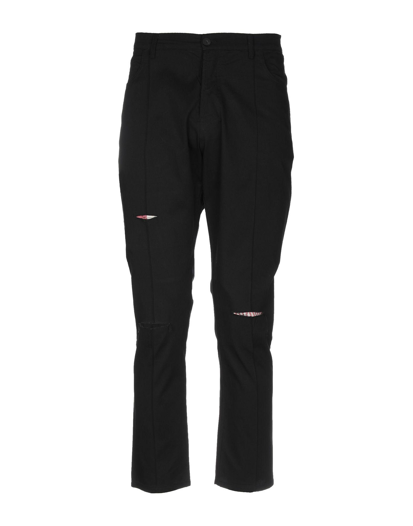 《送料無料》CORELATE メンズ パンツ ブラック 50 コットン