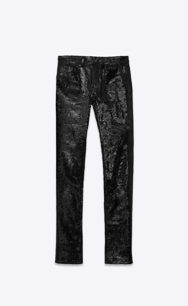 Mens Pants Jeans Ripped Skinny Saint Laurent Ysl