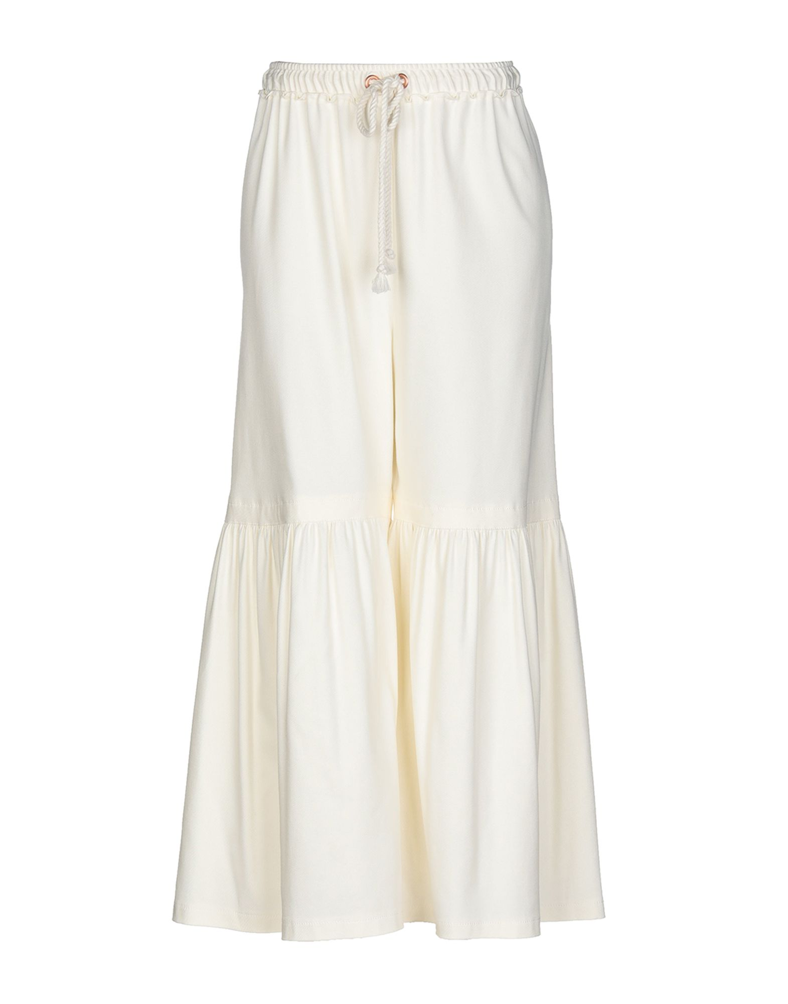 SEE BY CHLOÉ Повседневные брюки braless see through backless babydoll