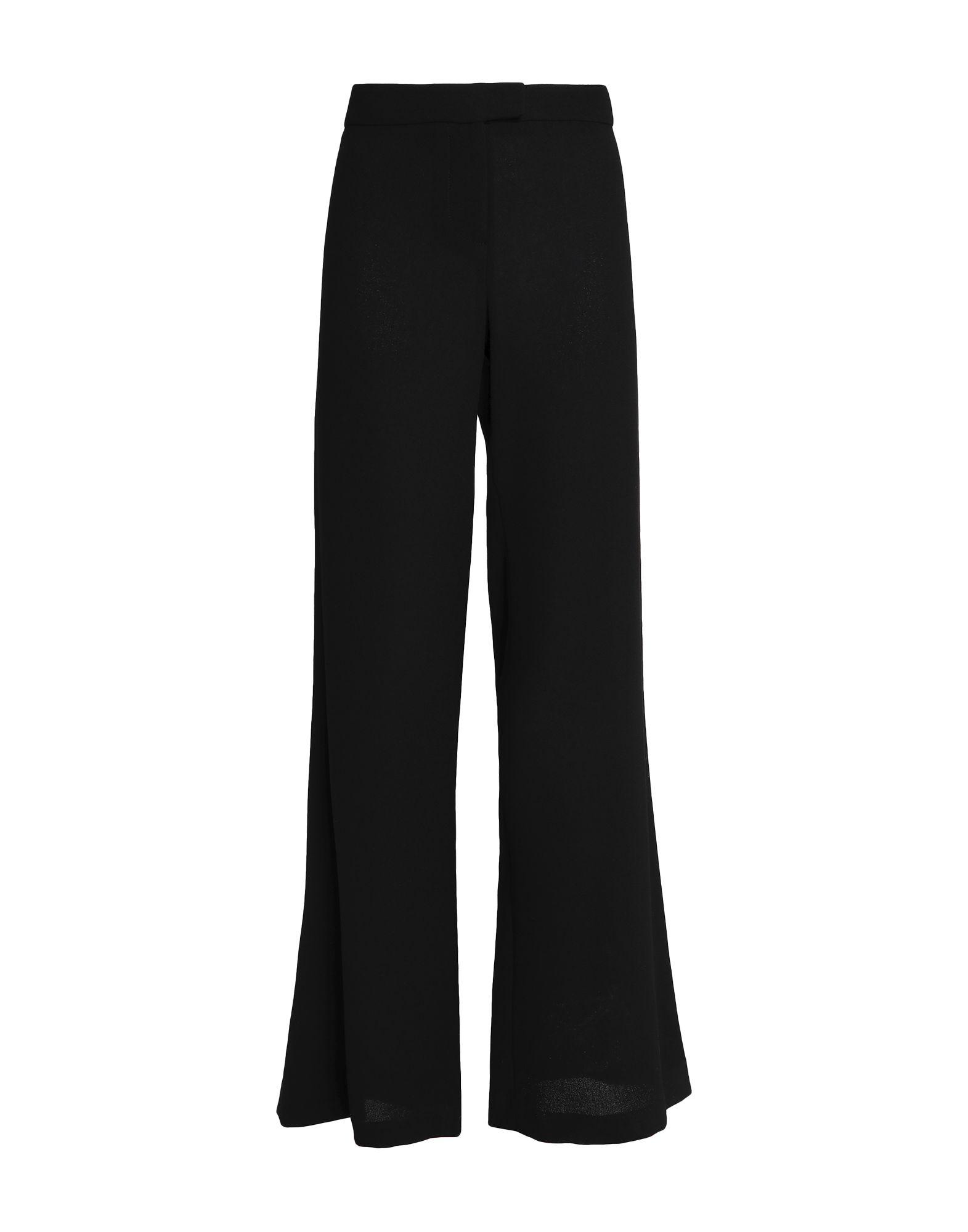 《送料無料》GOAT レディース パンツ ブラック 12 ウール 100%