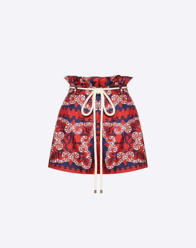 Mini Bandana Twill Shorts