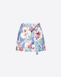 Hawaiian Hibiscus Viscose Canvas Shorts