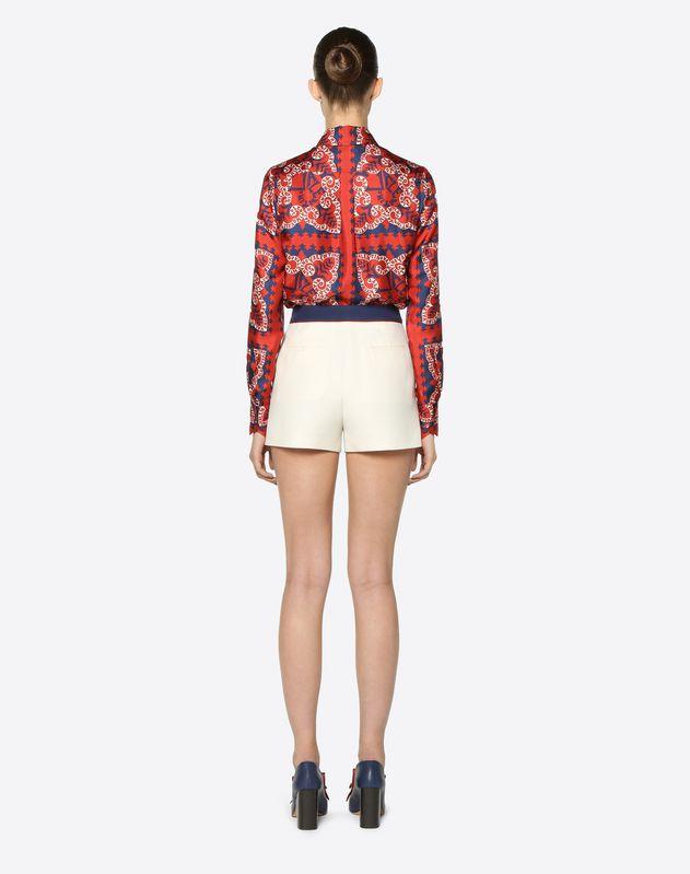 Crêpe Couture Shorts
