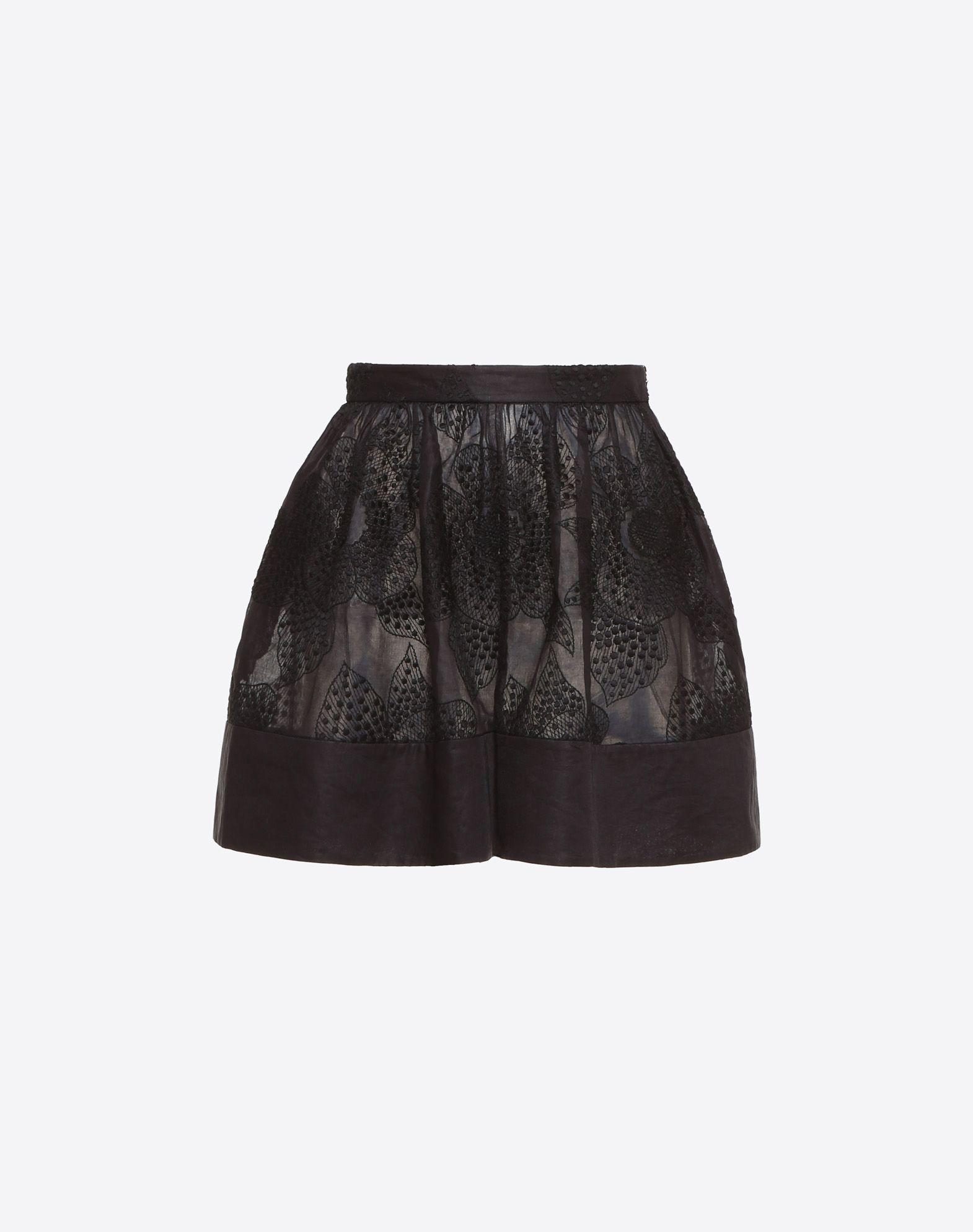 Camelia Organdis Shorts