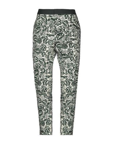 Фото - Повседневные брюки от CHLOÉ STORA темно-зеленого цвета