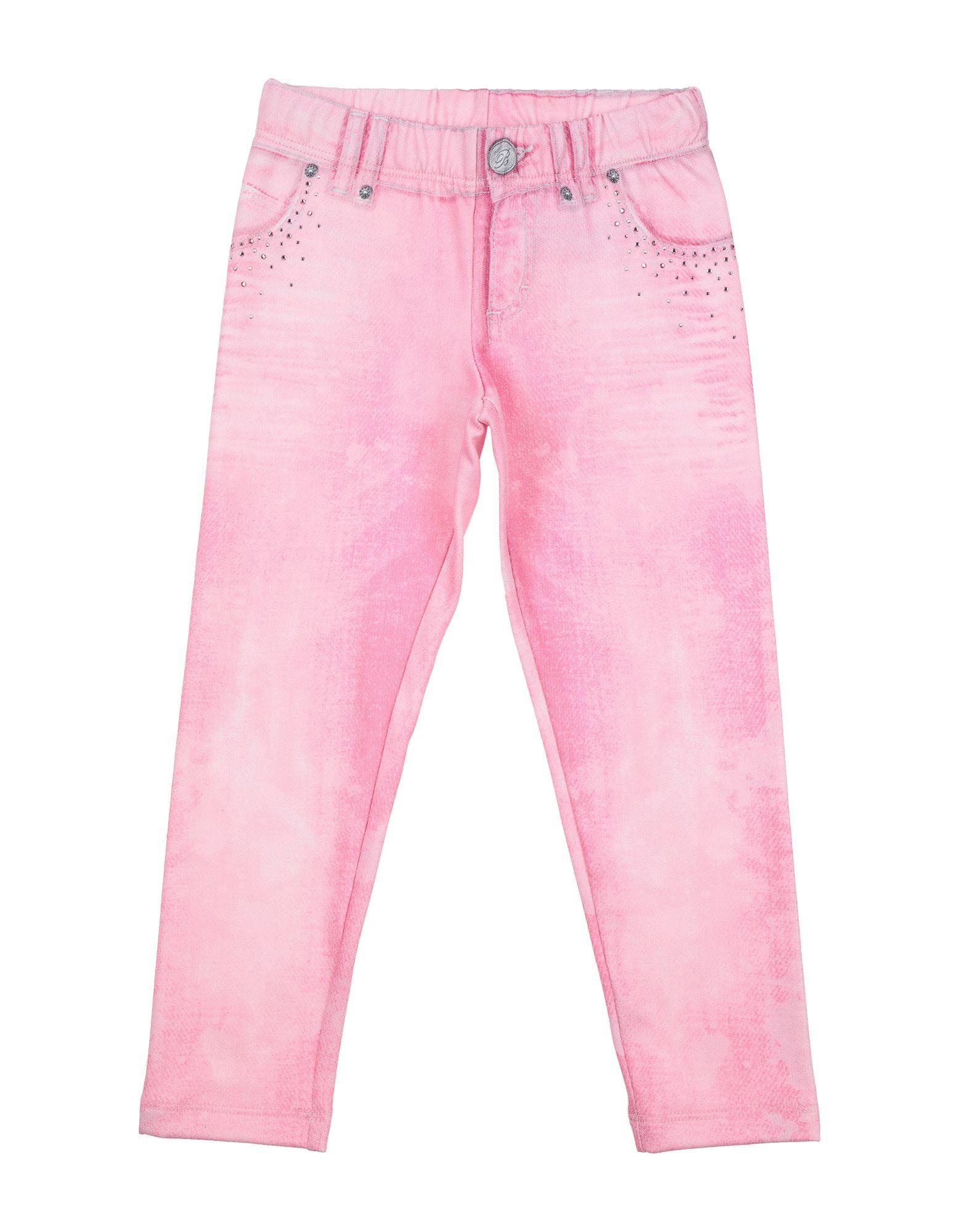 Blumarine Jeans Kids' Casual Pants In Pink