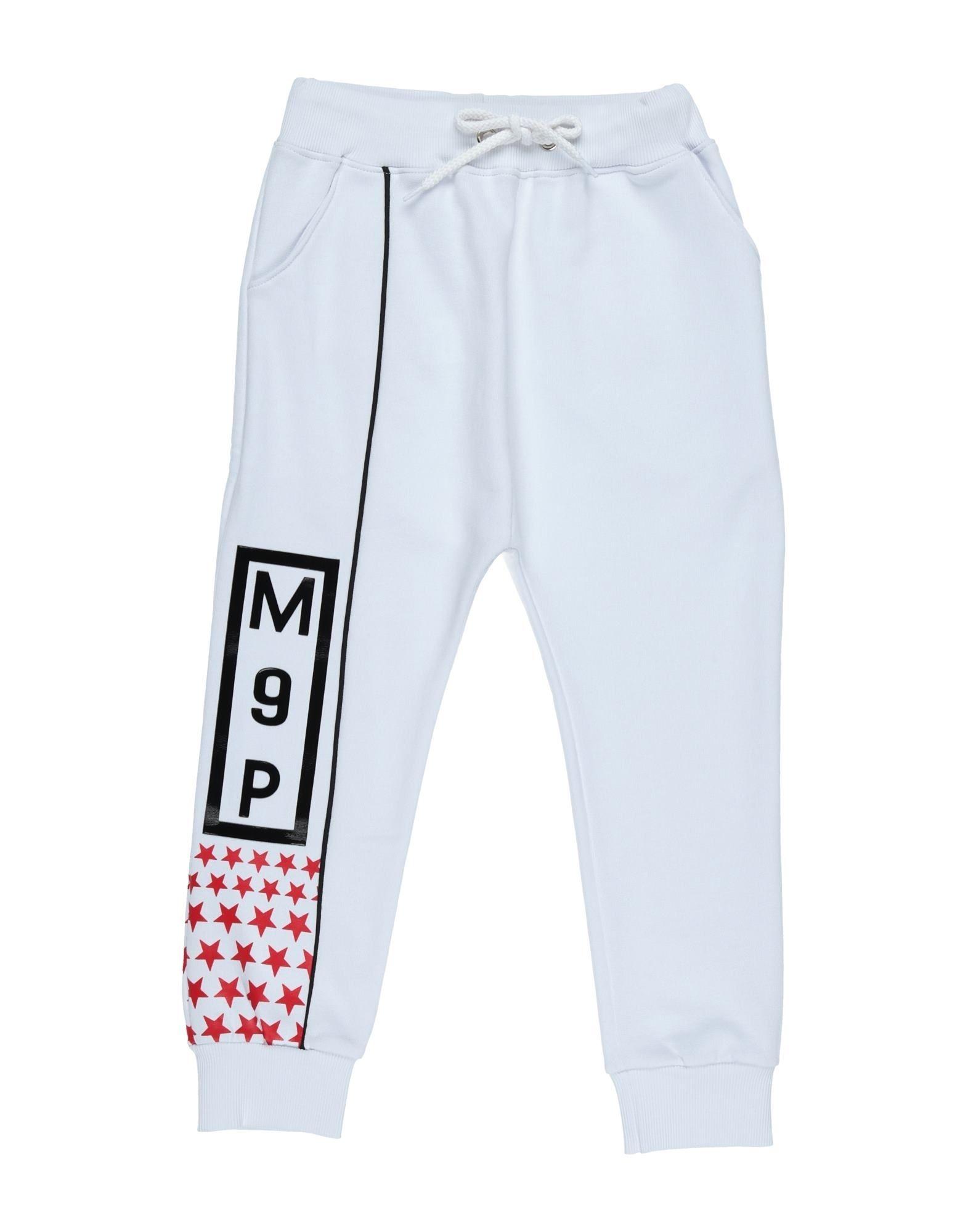 Maison 9 Paris Kids' Casual Pants In White