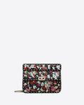 Medium flower embroidery motif Rockstud Spike.it bag