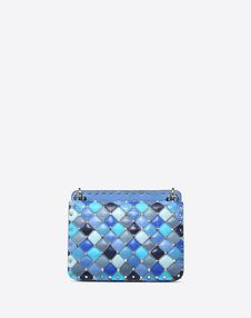 Medium multicolour Rockstud Spike.it Bag