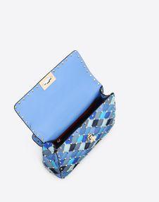 Medium multicolour Rockstud Spike.it Bag
