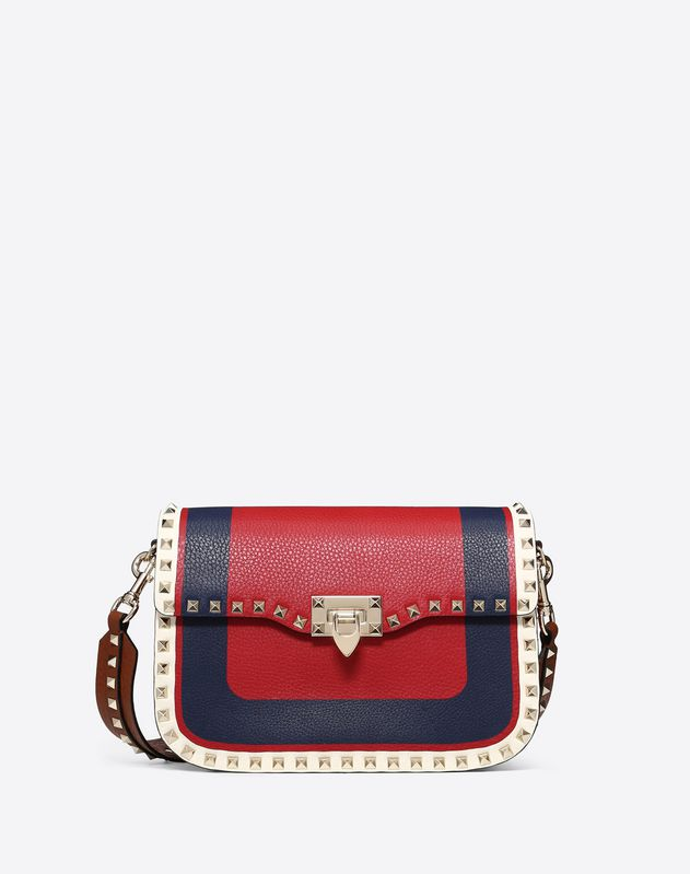 Medium Inlayed Rockstud Crossbody Bag