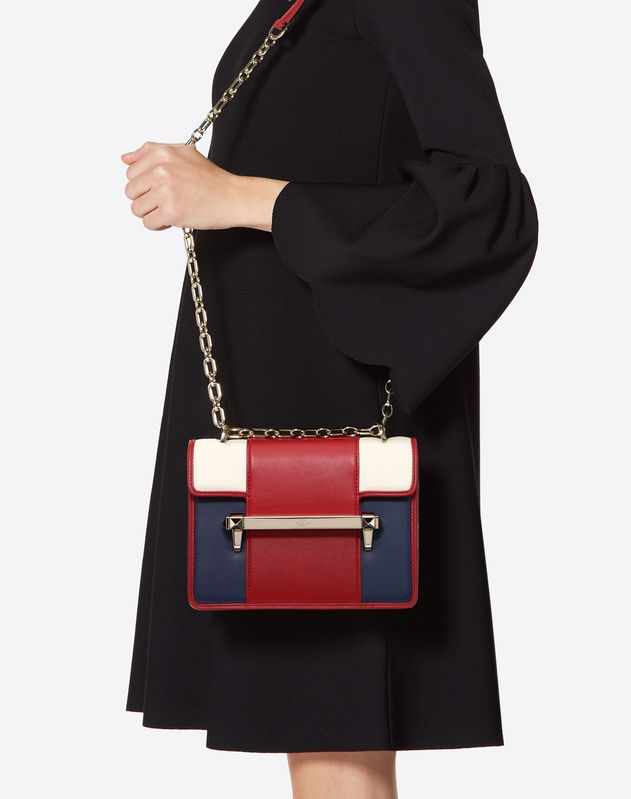Small multicolor Uptown shoulder bag