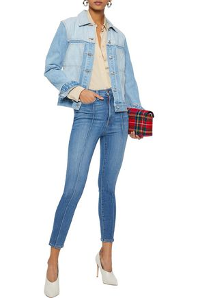 ALICE + OLIVIA Good cropped high-rise skinny jeans