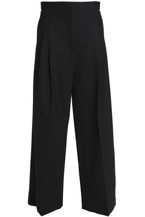 J.W.ANDERSON Pleated wool-blend wide-leg pants