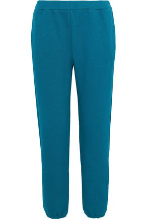 SIMON MILLER Yuba French cotton-terry track pants