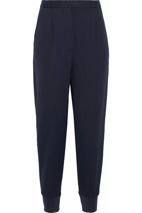MAISON MARGIELA Cropped stretch-cady tapered pants