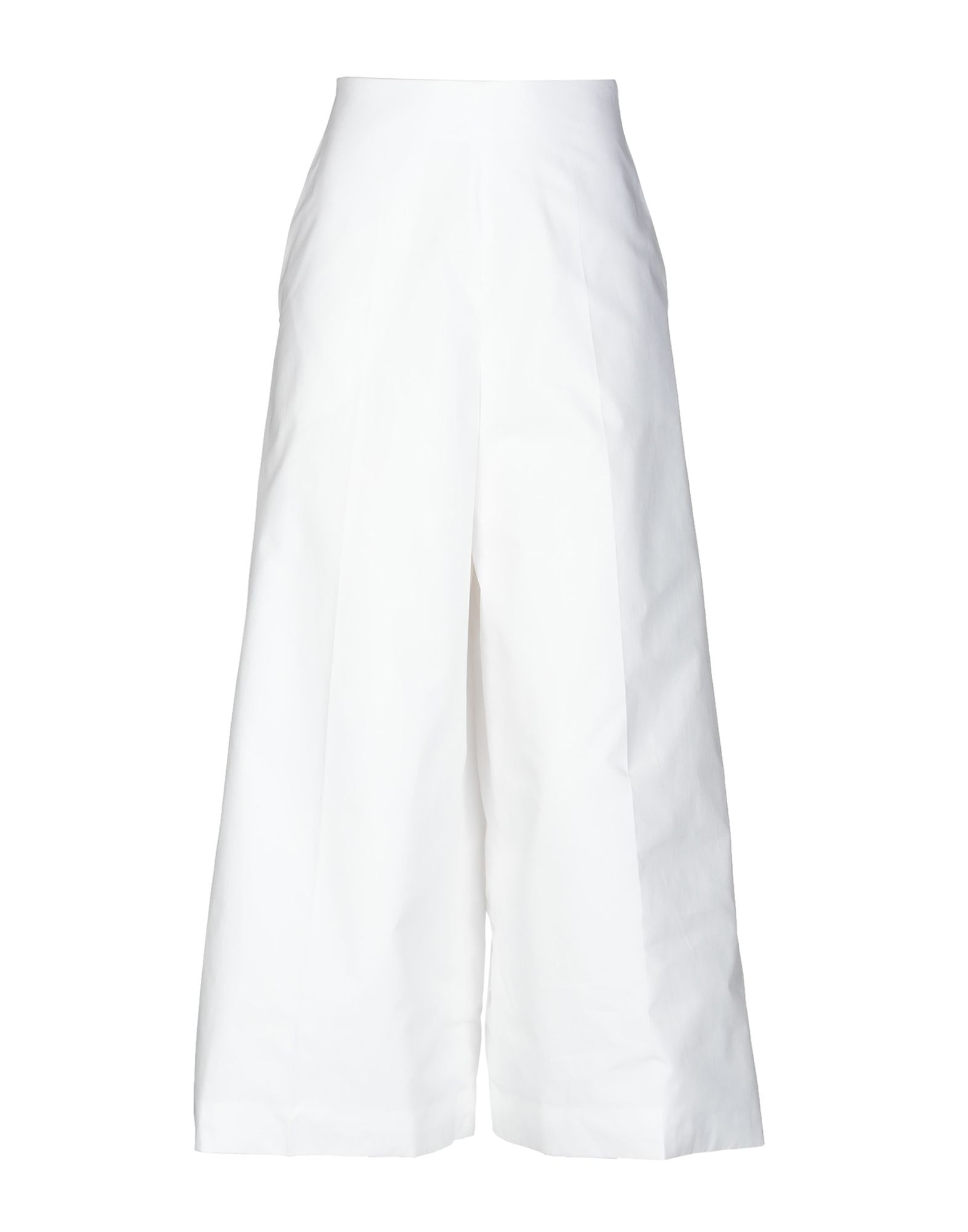 《送料無料》DELPOZO レディース パンツ ホワイト 38 コットン 100%