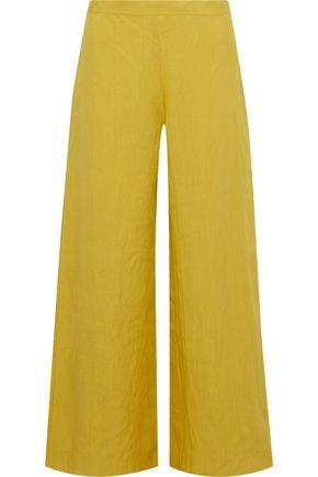 SIMON MILLER Aliso linen wide-leg pants