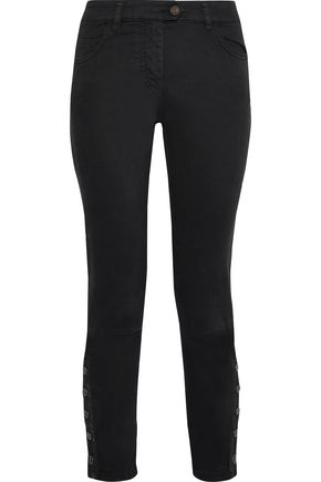 BELSTAFF Rossport cropped mid-rise skinny jeans