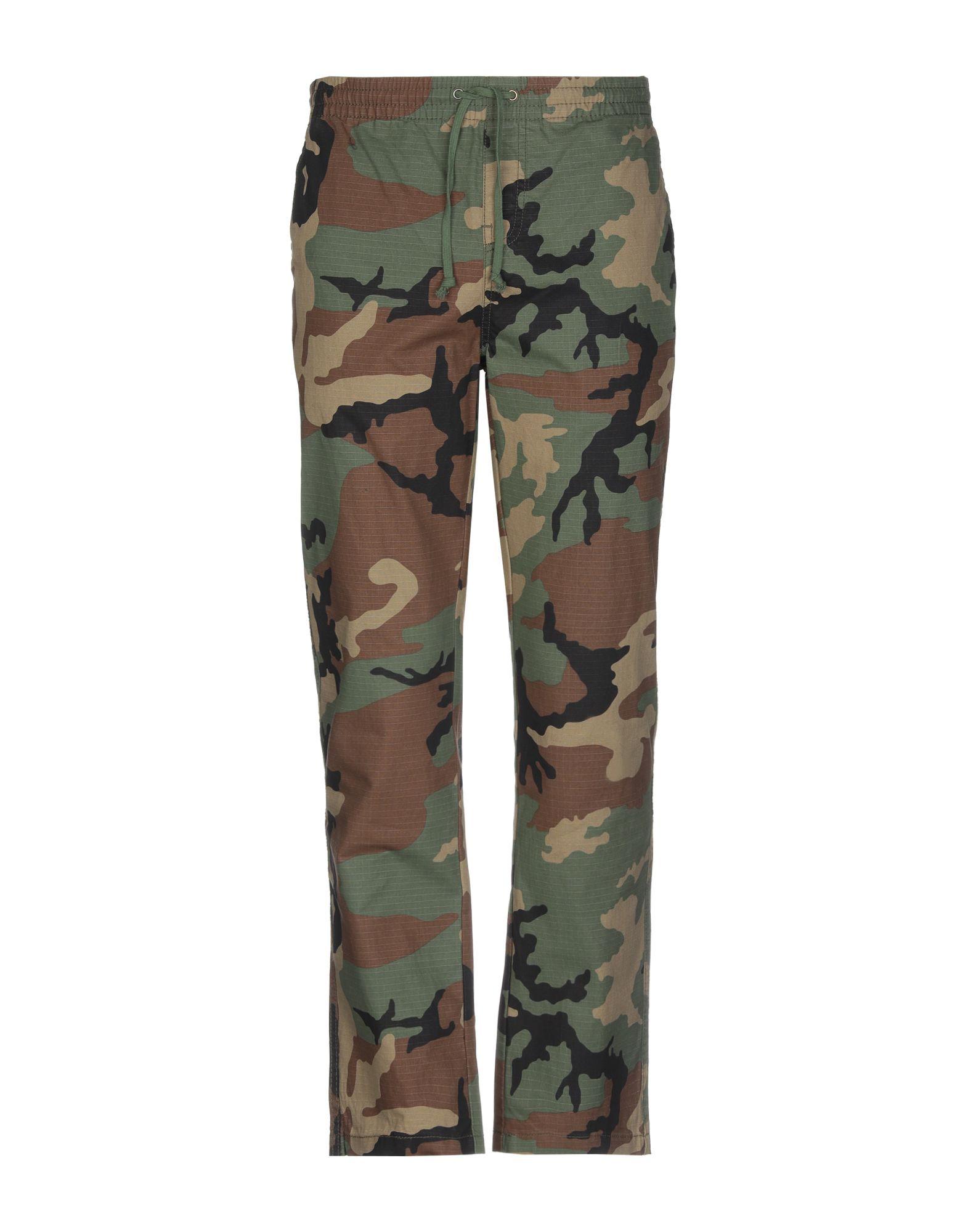 HUF Повседневные брюки футболка huf wartini burgandy
